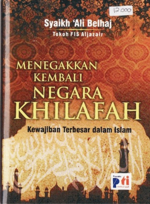 menegakkan kembali negara khilafah kewajiban terbesar kaum muslimin - cover